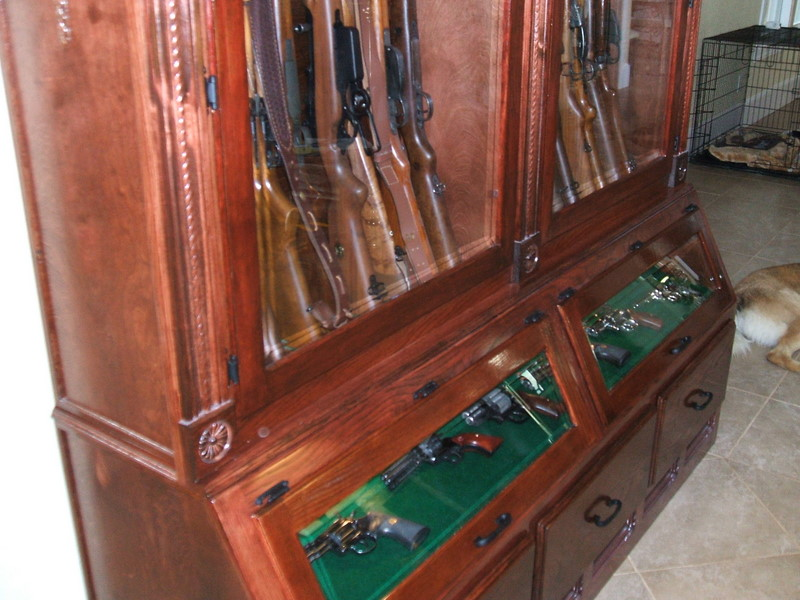 Woodworking Plans Gun Cabinet Plans Popular Mechanics PDF