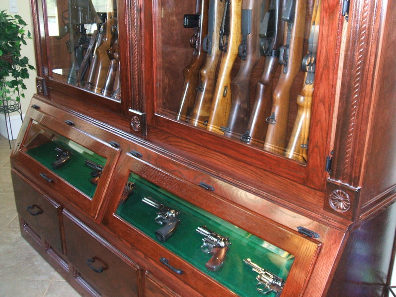 Woodwork Antique Gun Cabinet Plans PDF Plans